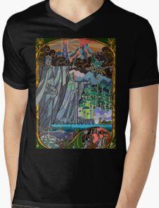 The Gates of Argonath Mens V-Neck T-Shirt