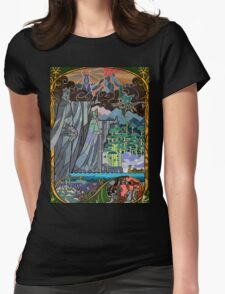 The Gates of Argonath Womens Fitted T-Shirt