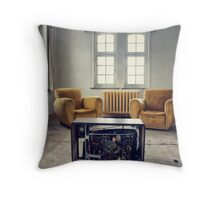 TV room Throw Pillow