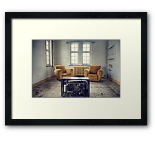 TV room Framed Print