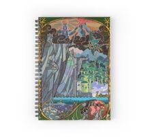The Gates of Argonath Spiral Notebook