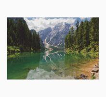 Lake Braies, South Tyrol, Italy Baby Tee