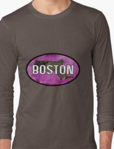 Boston Purple Long Sleeve T-Shirt