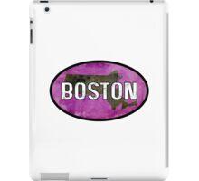 Boston Purple iPad Case/Skin