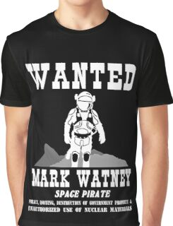 Mark Watney: Space Pirate - The Martian Graphic T-Shirt