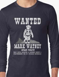 Mark Watney: Space Pirate - The Martian Long Sleeve T-Shirt