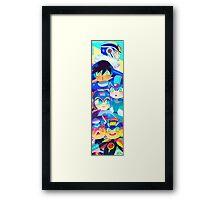 Blue Bombers Framed Print