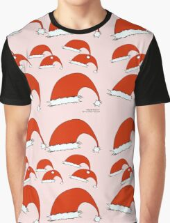Santa Hat Pattern 01 Graphic T-Shirt