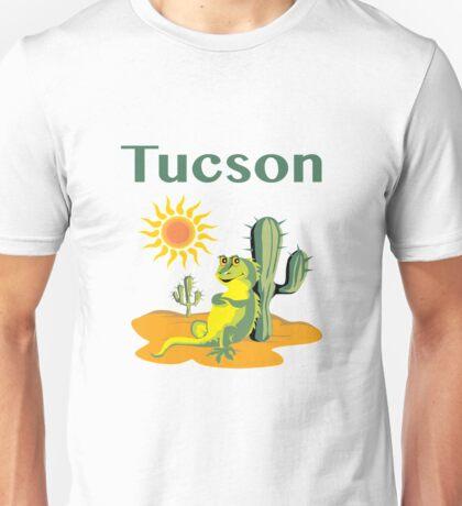 Tucson Lizard under Cactus Unisex T-Shirt