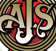 Classic British Motorcycle - AJS Sticker