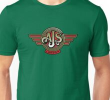 Classic British Motorcycle - AJS Unisex T-Shirt