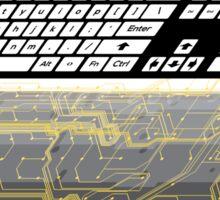 Keyboard Guts Sticker