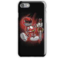 Vintage Red Ranger iPhone Case/Skin