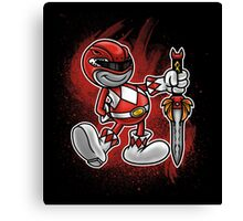 Vintage Red Ranger Canvas Print
