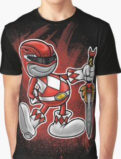 Vintage Red Ranger Graphic T-Shirt