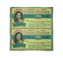 Vintage Apothecary Packaging : Empress Brand Tablets Scarf