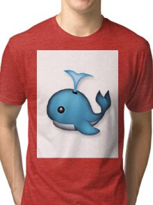 WHALE HELLO THERE Tri-blend T-Shirt
