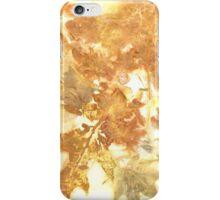 Eco Print 16_01 iPhone Case/Skin