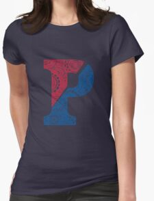 Penn Doodle Womens Fitted T-Shirt