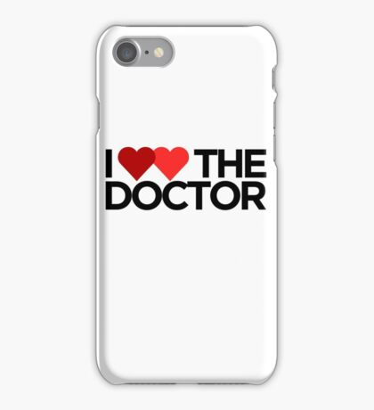 I <3 <3 The Doctor iPhone Case/Skin