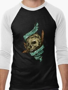 Skull #3 Men's Baseball ¾ T-Shirt