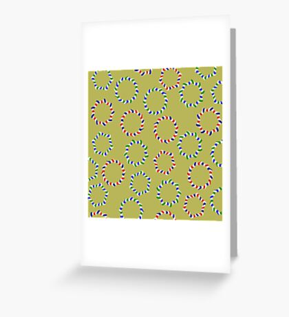 Happy Garlands Greeting Card