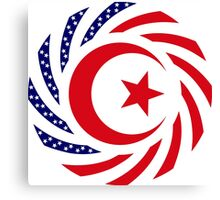 Muslim American Multinational Patriot Flag Series 1.0 Canvas Print