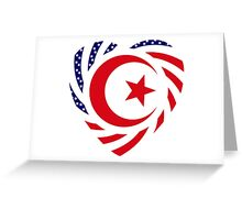 Muslim American Multinational Patriot Flag Series 2.0 Greeting Card
