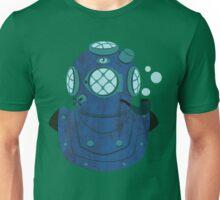 Bubbling Helmet Diver  Unisex T-Shirt