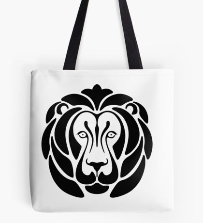 Graphic Lion Tote Bag