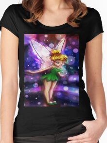 The magic of pixie dust! Women's Fitted Scoop T-Shirt