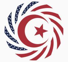 Muslim American Multinational Patriot Flag Series 1.0 Kids Clothes