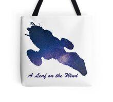 A Leaf on the Wind Tote Bag