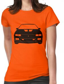 Third Gen Chevy Camaro - BLACK Womens Fitted T-Shirt