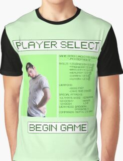 Jacksepticeye Player Select Screen Graphic T-Shirt
