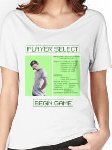 Jacksepticeye Player Select Screen Women's Relaxed Fit T-Shirt
