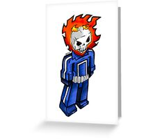 Ghost Rider 037 update Greeting Card