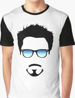 Robert Downey Jr. Graphic T-Shirt