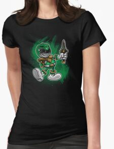 Vintage Green Ranger Womens Fitted T-Shirt