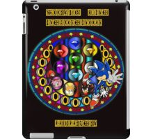 Sonic The Hedgehog Mandala iPad Case/Skin
