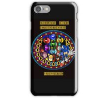 Sonic The Hedgehog Mandala iPhone Case/Skin