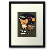 Its a Cat Trap! Framed Print