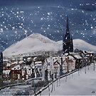 Snow On Edinburgh 7 by Ross Macintyre