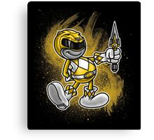 Vintage Yellow Ranger Canvas Print