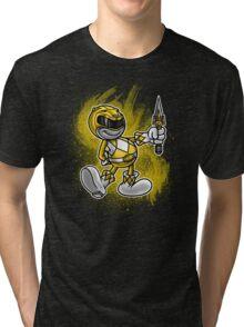 Vintage Yellow Ranger Tri-blend T-Shirt