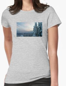 Grouse Mountain Womens Fitted T-Shirt
