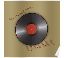 music plate Poster