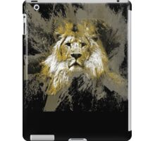 king of the cats iPad Case/Skin