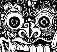 Barong Bali (Black) Sticker