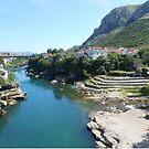 Neretva river,Mostar by rasim1